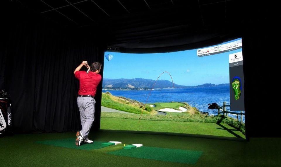 Golf simulators – no better way to improve your course technique