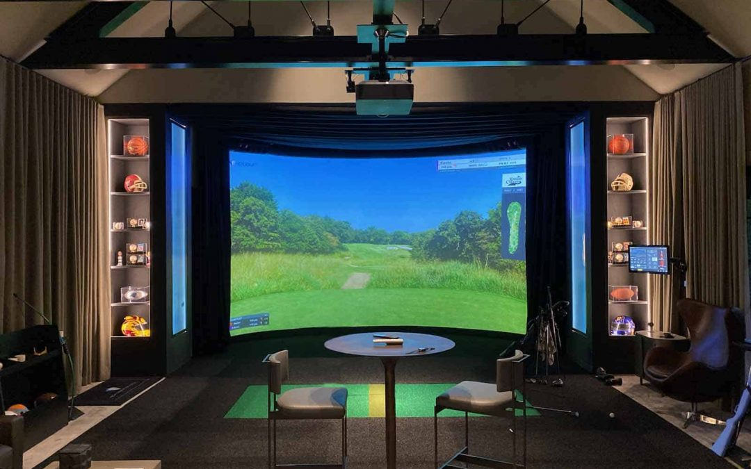 Luxury Golf Simulators- A great opportunity for Custom Integrators